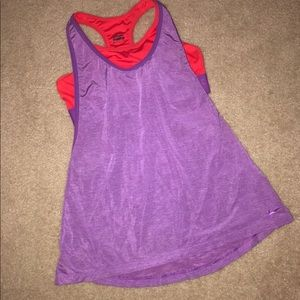 Nike Dri-Fit Racerback with Attached Sports Bra